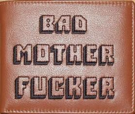 Bad Mother Fucker Wallet from Pulp Fiction